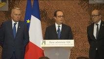 Discours devant les Forces françaises aux Emirats arabes unis