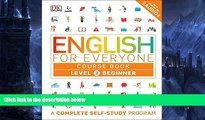 Pre Order English for Everyone: Level 2: Beginner, Course Book (Lbrary Edition) DK mp3