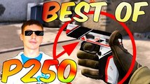 WHEN PRO PLAYERS USE P250! [INSANE SHOTS, VAC PLAYS] #CSGO