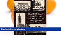 Pre Order Masterpieces of American Architecture (Dover Architecture) Edward Warren Hoak On CD
