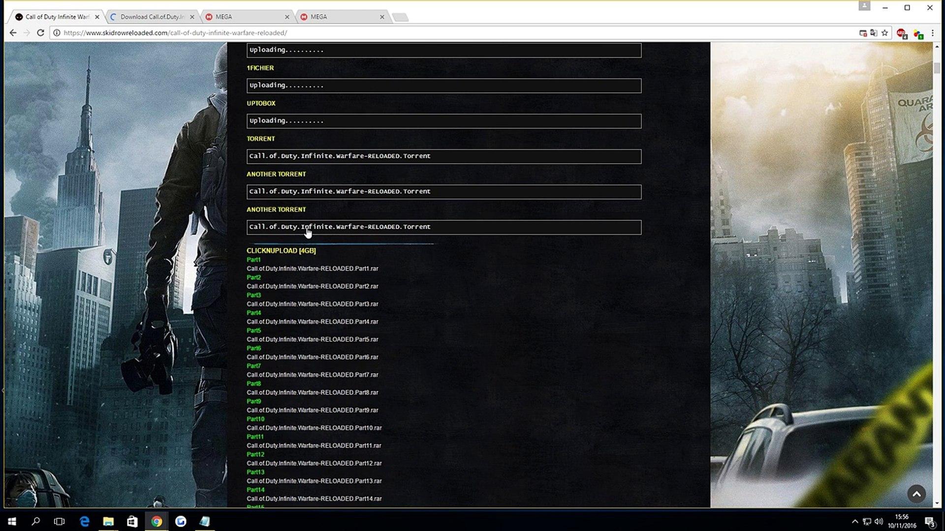 download call of duty infinite warfare torrent