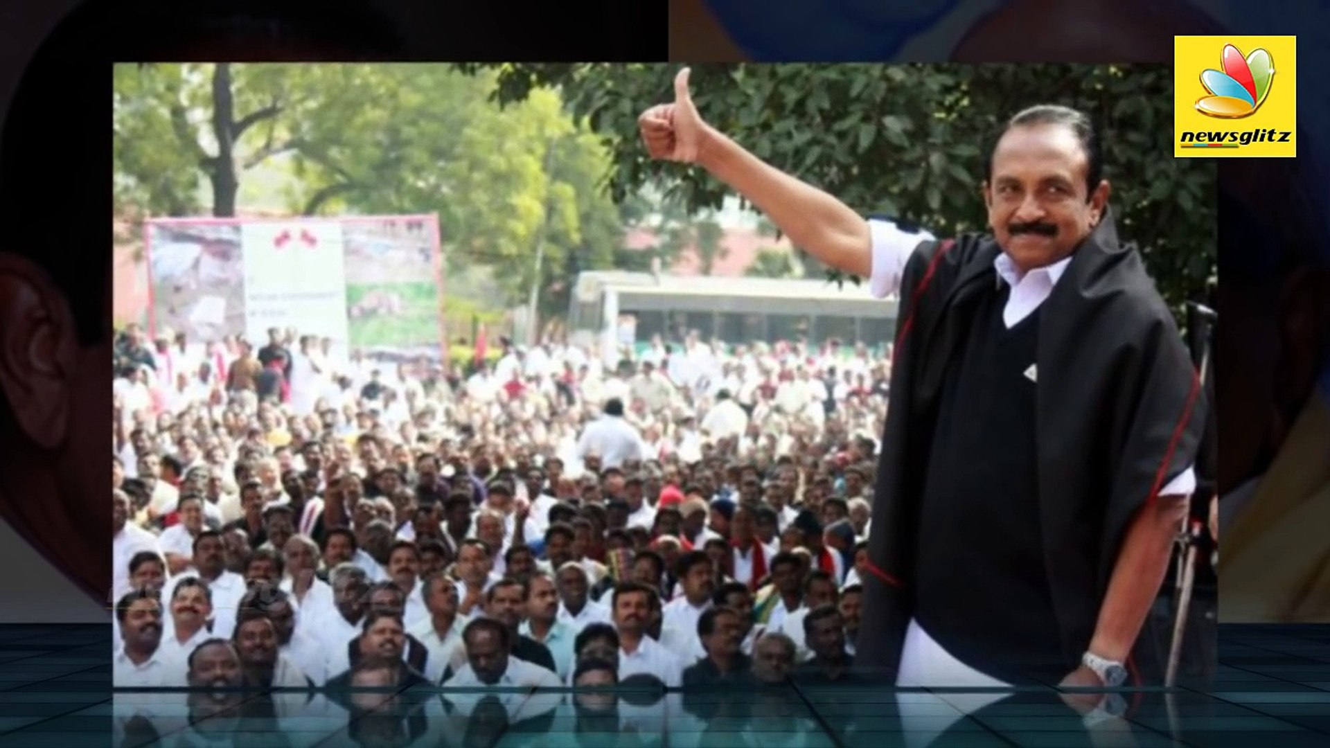 Karunanidhi can't isolate me from politics : Vaiko   Latest Tamil Political News