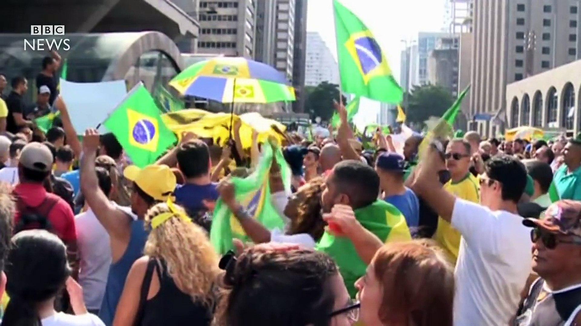 Brazil's deepening political crisis - BBC News