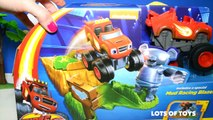 Blaze and the Monster Machines Launch & Go Forest Adventure Miles from Tomorrowland, Transformers