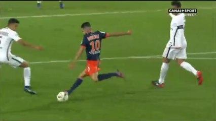 Superbe but de Boudebouz contre le PSG après avoir remonté tout le terrain