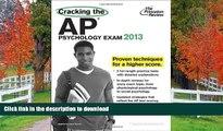 Hardcover Cracking the AP Psychology Exam, 2013 Edition (College Test Preparation) Princeton