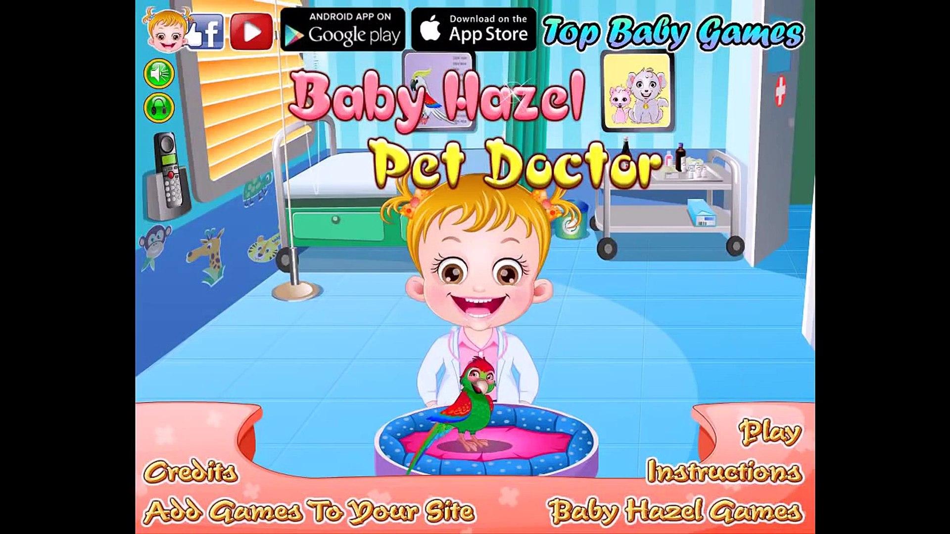 Baby Hazel Pet Doctor - Baby Hazel Games
