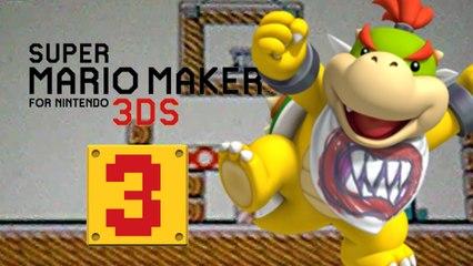 Lets Play - Super Mario Maker 3DS ONLINE [03] Schönes Zu Hause und Bowser Jr