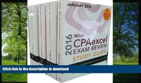 READ Wiley CPAexcel Exam Review 2016 Study Guide January: Set (Wiley Cpa Exam Review) O. Ray