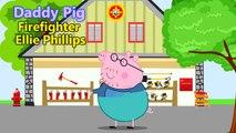 Peppa Pig Fireman Sam, Sam el bombero, Sam le pompier, Feuerwehrmann Sam