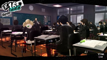 Persona 5 : Persona 5 Story Trailer PSX 2016
