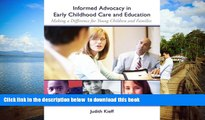 Pre Order Informed Advocacy in Early Childhood Care and Education: Making a Difference for Young