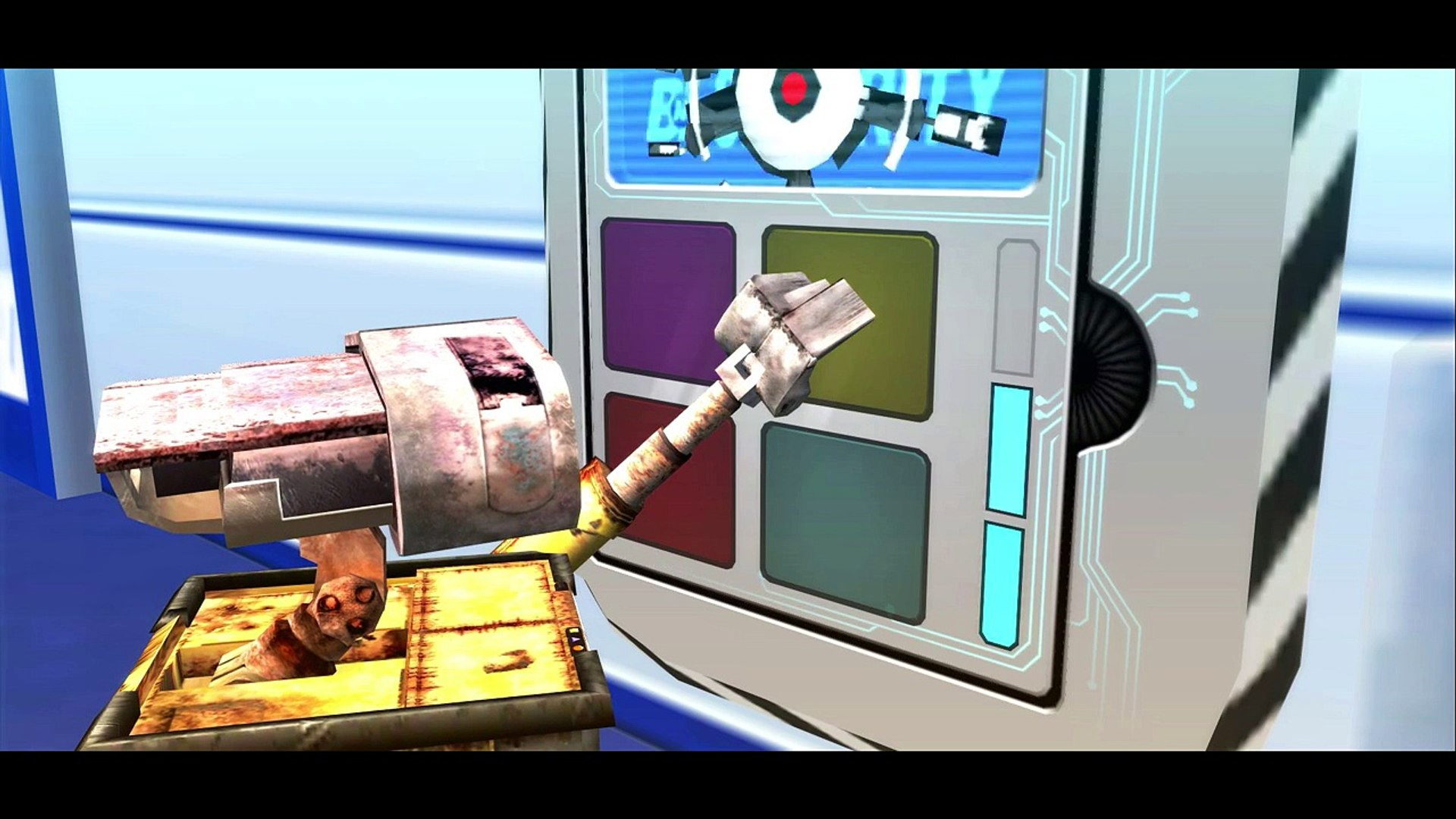 Wall-E having fun with eva + Nursery Rhyme for Childrens HD (Songs for Children with)