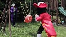 PJ Masks Paw Patrol In Real Life - Joker Baby with Captain Hook Changing Diaper Prank