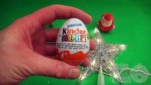 Kinder Surprise Egg Learn A Word! Spelling Holiday and Christmas Words! Lesson 3