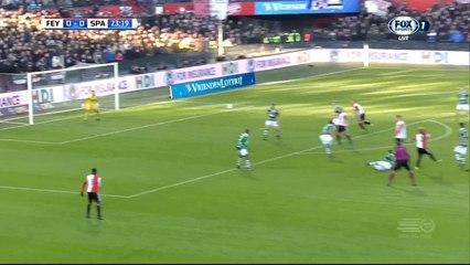 Гол Тонни Триндад де Вильена · Фейеноорд (Роттердам) - Спарта (Роттердам) - 1:0