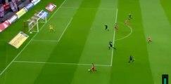 Fortounis  γκολ - Ολυμπιακός Πειραιώς - Λεβαδειακός 3-0  04-12-2016