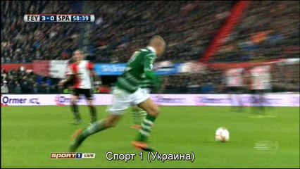 Гол Николай Йоргенсен · Фейеноорд (Роттердам) - Спарта (Роттердам) - 3:0