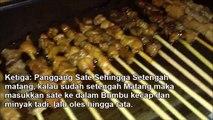 #Resep Cara Membuat Sate Ayam dan Danging | Bumbu Sate #madura