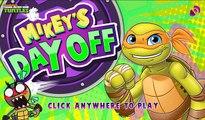 TMNT new Games - Teenage Mutant Ninja Turtles - Mikeys Day Off!