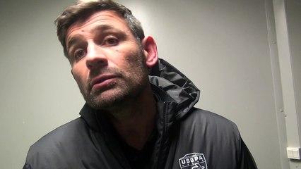 Rugby Fédérale 1- Laurent Mignot réagit après USB - Aubenas