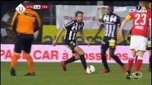 Sporting Charleroi vs Standard Liege 1-1  Djamel Bakar Goal  Jupiler League 04-12-2016 (HD)