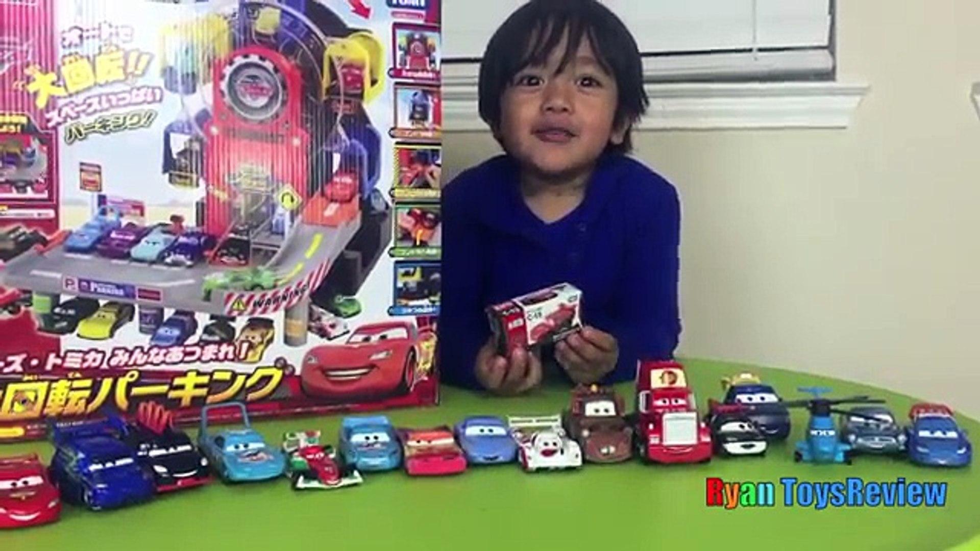 Disney Pixar Cars Toys Ferris Wheels Tomy Big Parking Lightning McQueen Kinder E