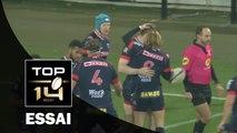 TOP 14 ‐ Essai Chris FARRELL (FCG) – Grenoble-Montpellier – J13 – Saison 2016/2017