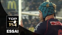 TOP 14 ‐ Essai Peter KIMLIN (FCG) – Grenoble-Montpellier – J13 – Saison 2016/2017