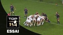 TOP 14 ‐ Essai Fulgence OUEDRAOGO (MHR) – Grenoble-Montpellier – J13 – Saison 2016/2017