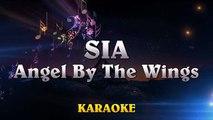 Sia - Angel By The Wings ¦ HIGHER Key Piano Karaoke Instrumental Lyrics Cover Sing Along