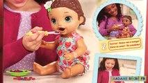 Baby Alive Lily Bébé Glouton Super Snacks Snackin Lily Brunette
