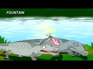Tale Toons - The Monkey And The Crocodile - Bengali