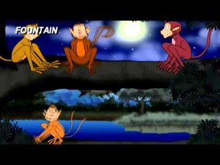 Tale Toons - The Moon And The Monkeys - Bengali