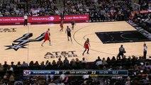Manu Ginobili Knocks Down Buzzer-Beater | Wizards vs Spurs | December 2, 2016 | 2016-17 NBA Season