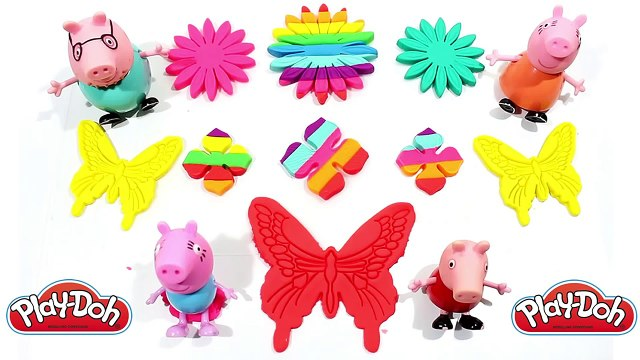 Play Doh Flower Face with Winnie the Pooh Cookie Cutters Fun and Creative for Children #2