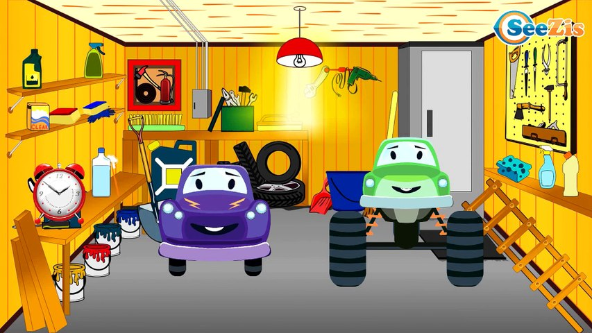 The Racing Car - Cartoon For Kids - Kids Videos Compilation about Race