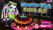 Monster High Fruit Pie - Monster High Cake Decoration Game for Kids