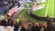O golo de Rui Pedro e os festejos dos jogadores do FC Porto, vistos das bancadas!