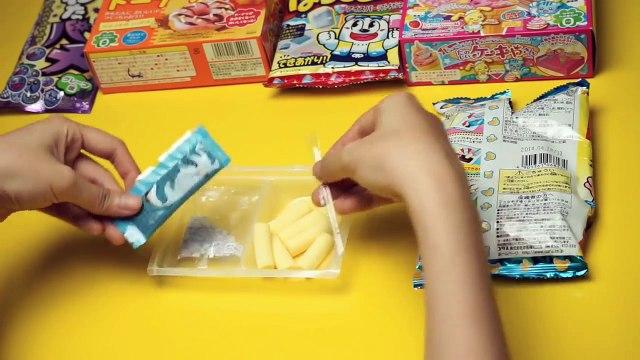 Japanese Candy Kit DIY Banana & Chocolate with Sprinkles