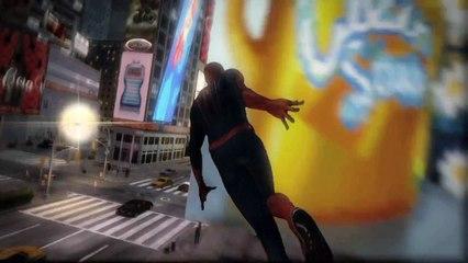 THE AMAZING SPIDER-MAN - WEBRUSH TRAILER
