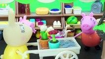 Peppa Pig dia de compras en el Supermercado - Juguetes de Peppa