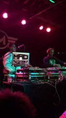 Mad Skillz & DJ Skillz repping the west coast at the #Drez Dance Party