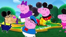 Peppa Pig Finger Family - Peppa Pig Mickey Mouse finger family nursery rhymes and more lyrics