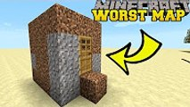 PopularMMOs Minecraft - THE WORST MINECRAFT MAP EVER! - BAD MAP - Custom map