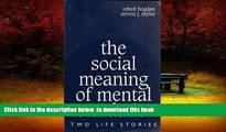 Audiobook The Social Meaning of Mental Retardation: Two Life Stories: (Professional Development