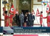 Presidente Maduro recibe a primer ministro de Trinidad y Tobago
