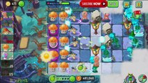 Plants Vs Zombies 2: Horse Knight Zombie At Fog Night - China Version Dark Ages