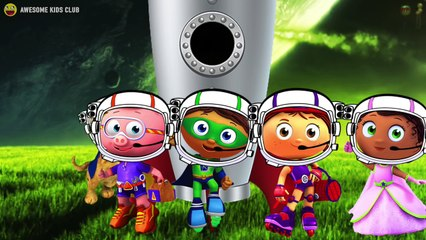 Super Why Space Planets Adventure Finger Family Song
