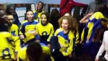 La célébration géniale des U14 de l'ESSG après une victoire face au PSG